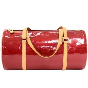 NEW Louis Vuitton Monogram Bedford Bag Red Vernis